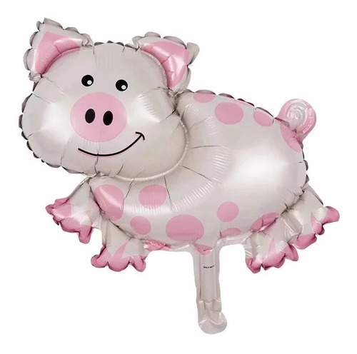 globos de animales de  granja , vaca lola son americanos!