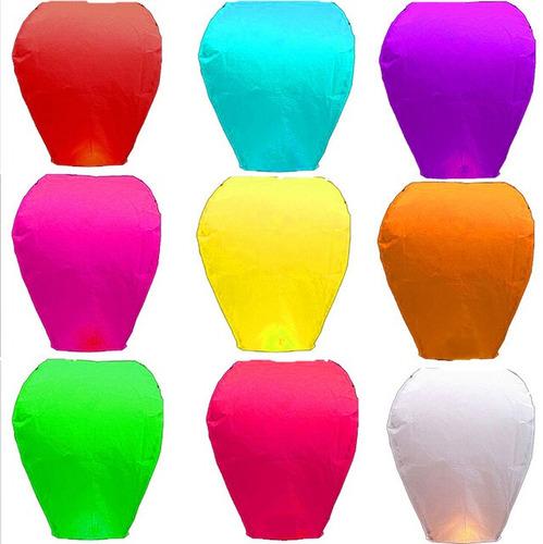 globos de cantoya fiesta boda bautizo diferentes colores