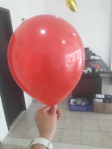 globos de latex #9  y #12  funda de 100 unidades