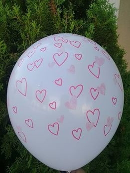 globos de latex happy birthday  estrellas corazon cumpleaños