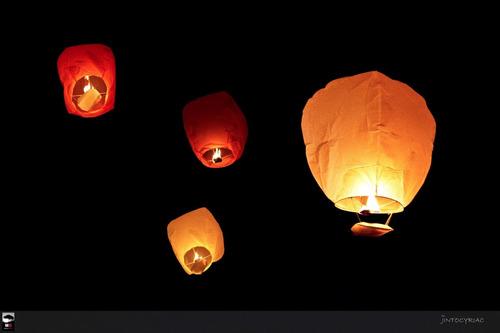 globos de luz. lámparas aerostáticas - s/8 desde 1unid