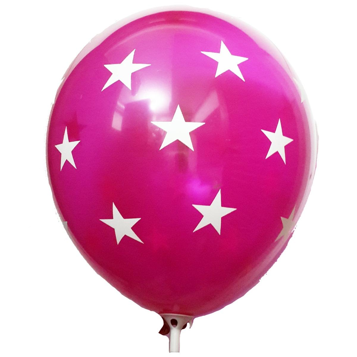 globos decorativos para fiestas con estrellas 6 unidades