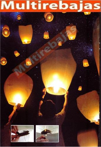 globos del deseo aire caliente de cantoya para celebraciones