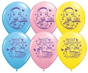 globos doctora juguete 180 bs, globos metalizados importados