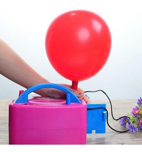 globos eléctrico inflador