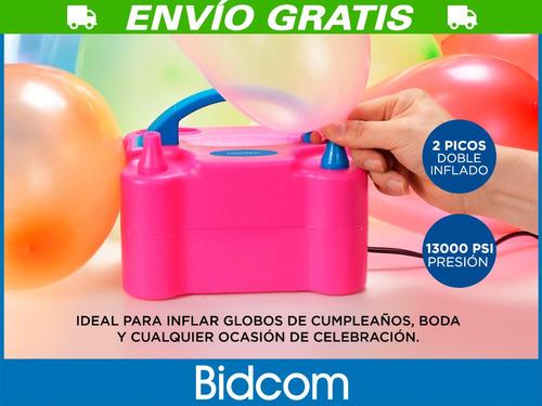 globos electrico inflador