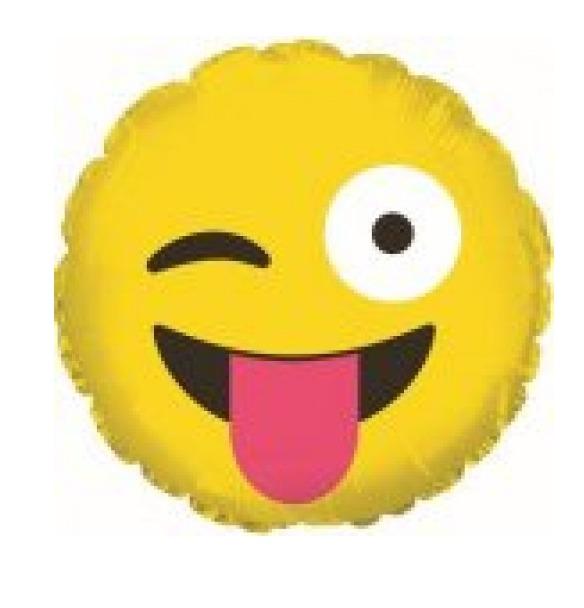 globos emoticón caritas enamorado guiño felíz y 9 pulg bs 0