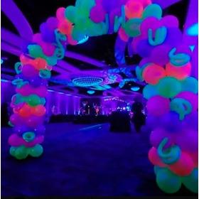Globos Fluorecentes De Neon Colores Surtidos Por 100