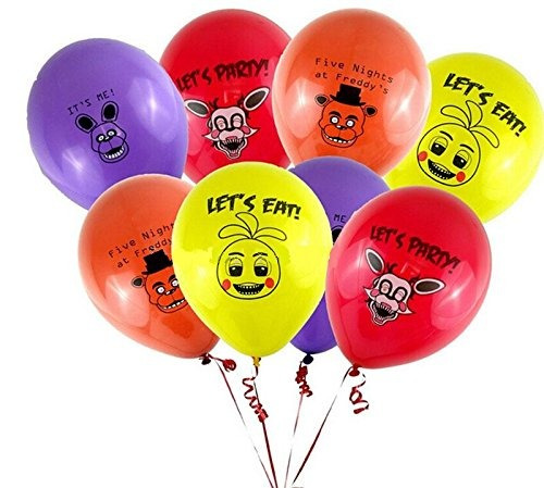 globos fnaf 12 conteo mixto