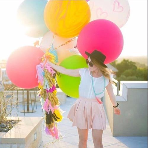 globos gigantes lisos / oferta. (globos piñata)
