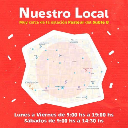 globos globox 12p multicolor de látex x 50u  ciudad cotillón