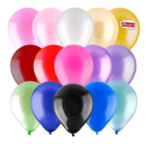 globos globox perlados 12 pulgadas x 50 - ciudad cotillón
