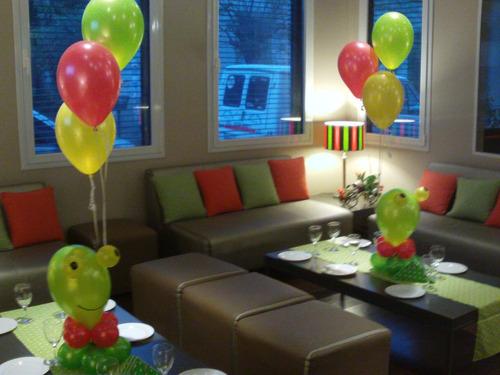 globos helio perlados con cintas caba oferta globo fun!!!