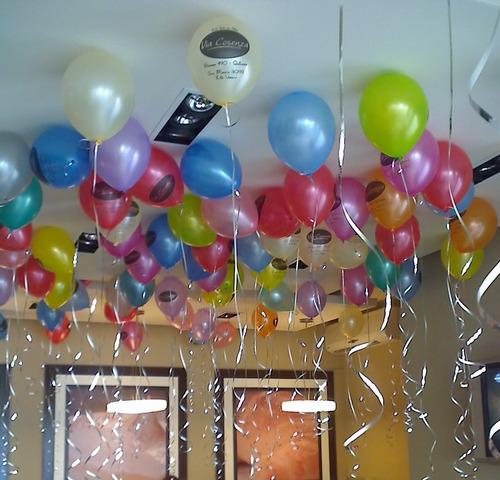 globos helio perlados con cintas zona sur caba globo fun!!!