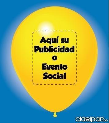 globos impresos para eventos publicitarios y personalizados