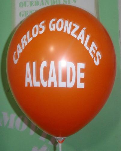 globos impresos personalizados