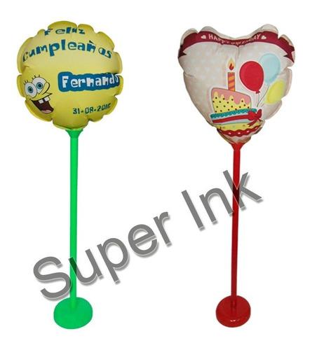 globos imprimibles inkjet para personalizar a tu gusto