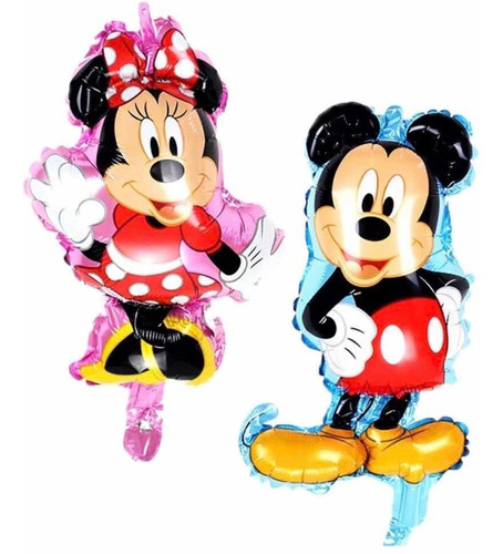 globos, infantiles. mickey mouse y minnie!