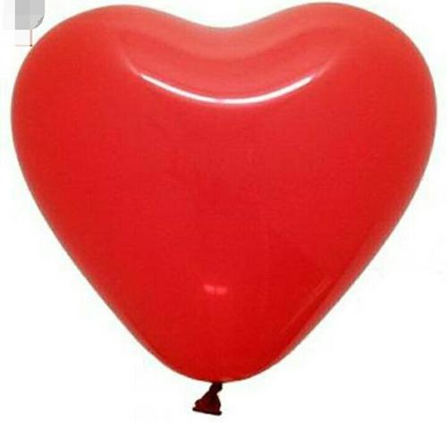 globos látex corazón # 10 el ciento incluye los palitos