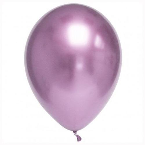 globos latex crome bombas r12 30cm *50 unidades