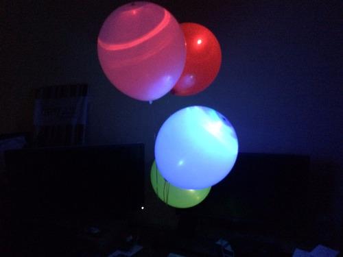 globos led de colores 100% iluminados fiestas brillantes