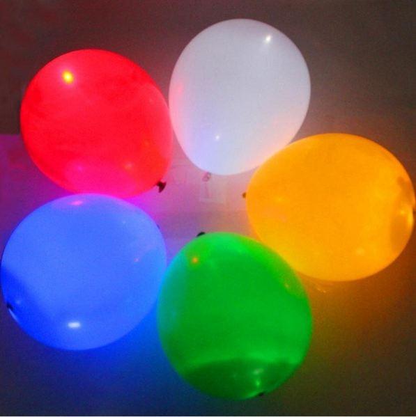 Globos Led De Colores Globos Cumpleaos Fiestas Infantiles S 10
