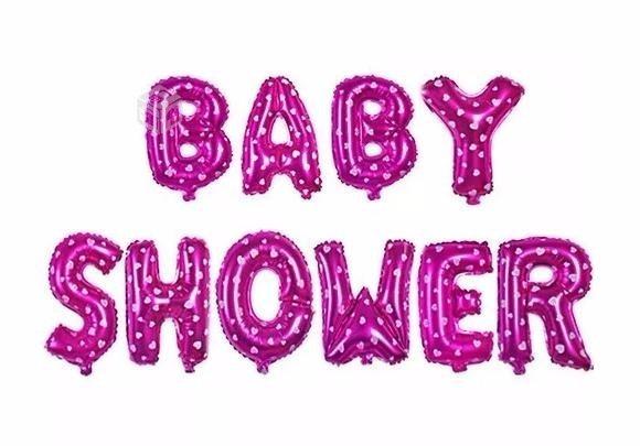 Globos letra baby shower decoracion bebe en mercado libre - Letras bebe decoracion ...