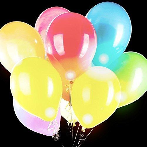 globos luminosos de diversion central 14 pulgadas