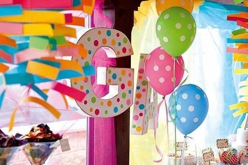 globos lunares inflados con helio cintas oferta globo fun!!!