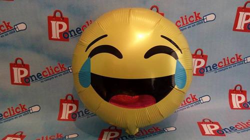 globos metálicos emoji