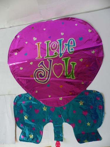 globos metálicos para decoración