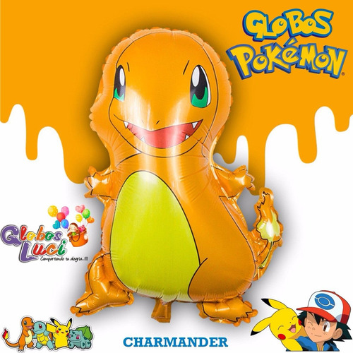 globos metalicos pokemon