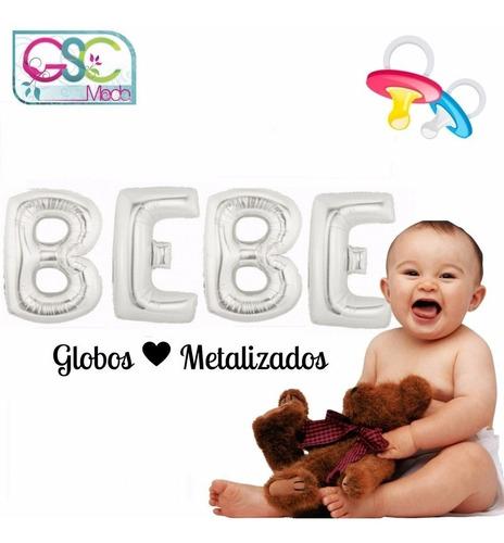 globos metalizado bebe baby shower recuerdo bautizo