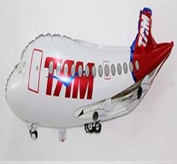 globos metalizados aviones personajes 75cm mayor detal