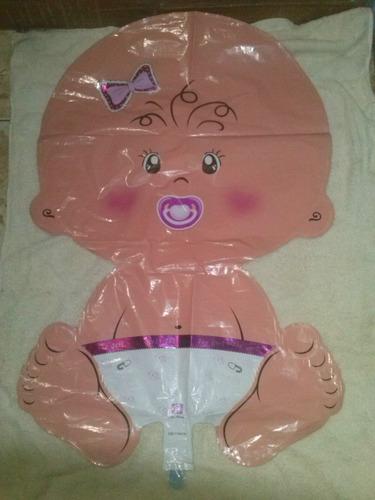 globos metalizados bebe, baby shower, nacimiento