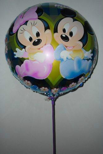 globos metalizados cars mickey frutillitas toy sofia  x 10