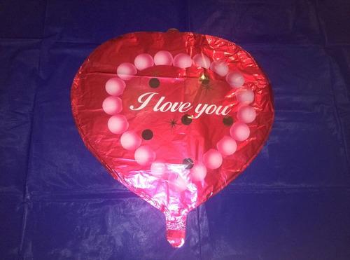 globos metalizados corazones enamorados helio arreglos amor