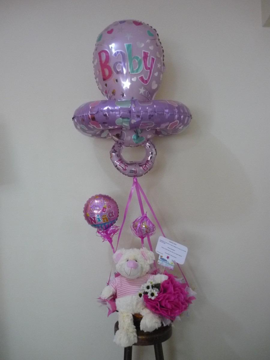 Globos metalizados de bebe baby shower chupon 29 pulgadas for Donde comprar globos