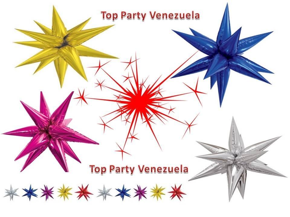Globos Metalizados - Estrella 3d Foil Fiesta Celebración - Bs. 7.000 ... 0d4dff76c4b