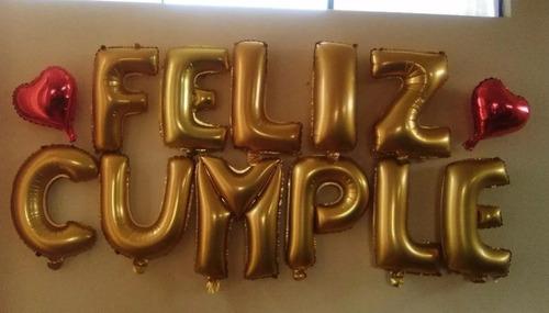 globos metalizados feliz cumpleaños  plateados 35 cm bombas