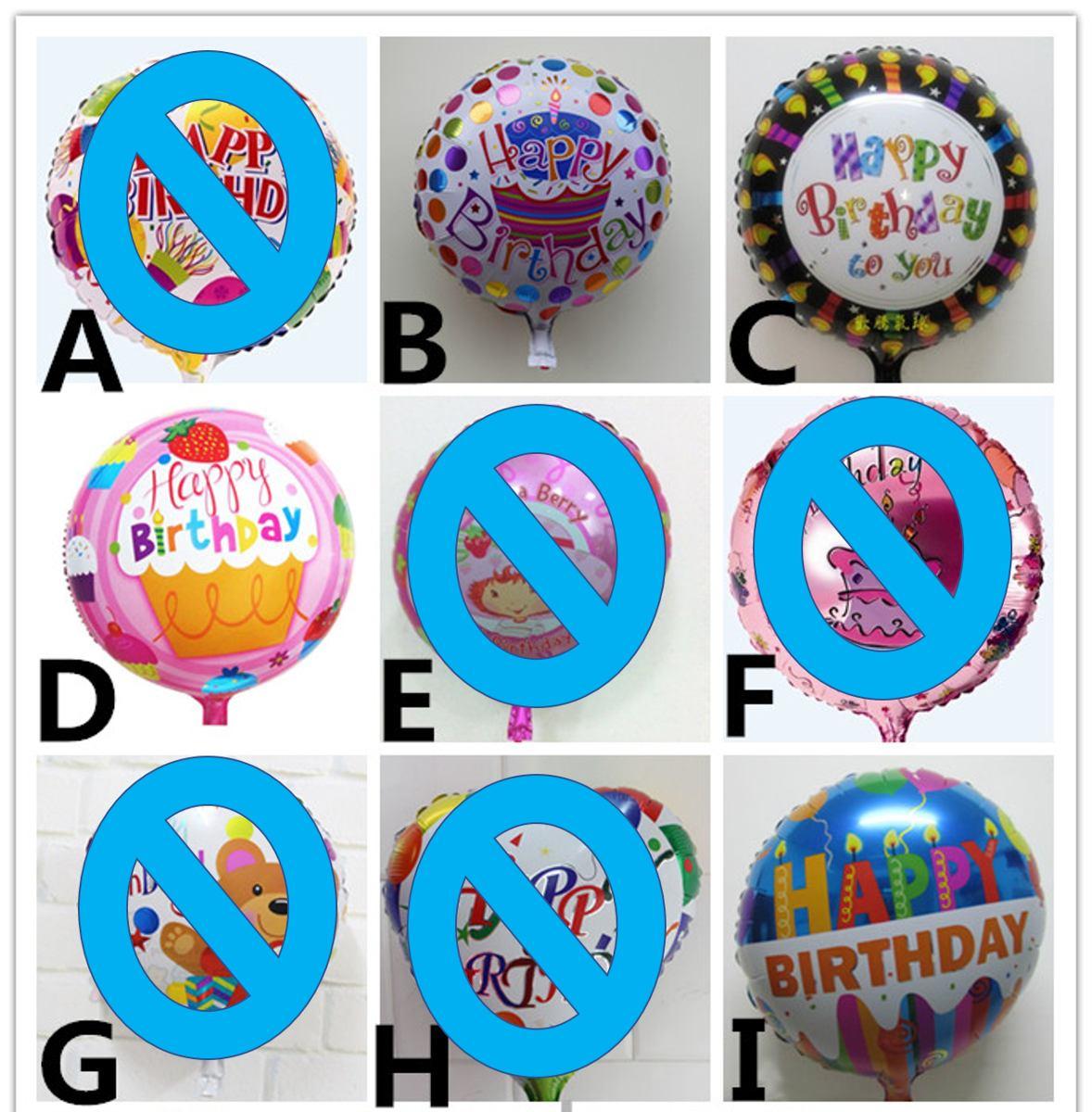 Globos Metalizados Happy Birthday Cupcakes Cumpleanos Zea Bs 1 40