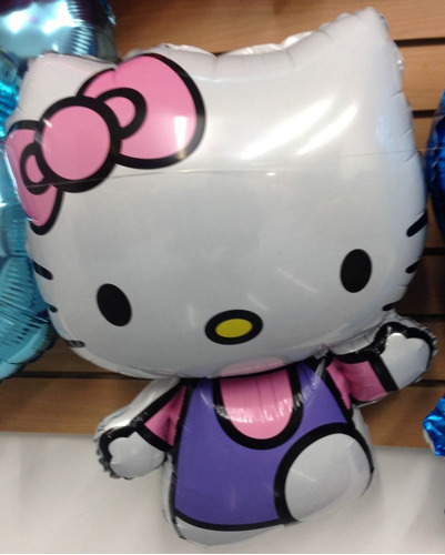 globos metalizados hello kitty personajes mayor detal