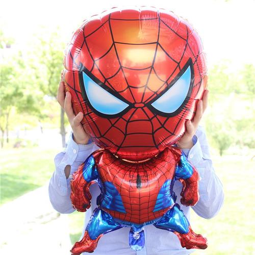 globos metalizados hombre araña spider man mayor detal 80cm