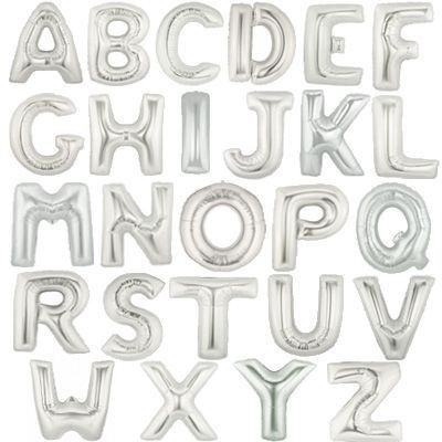 globos metalizados letra numero figuras 16 pulgadas 40 cm