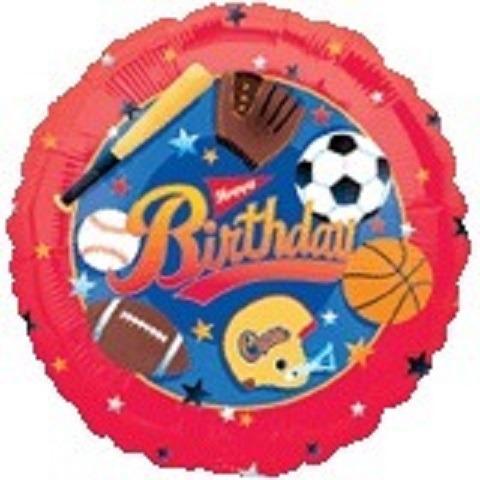 globos metalizados pelotas de deporte beisbol y futbol 18