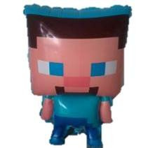 globos metalizados personajes minecraft mayor detal