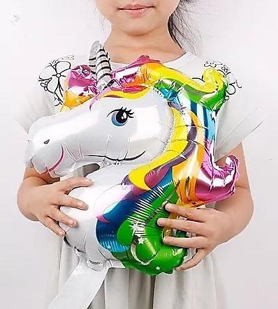 globos metalizados unicornio 37cm