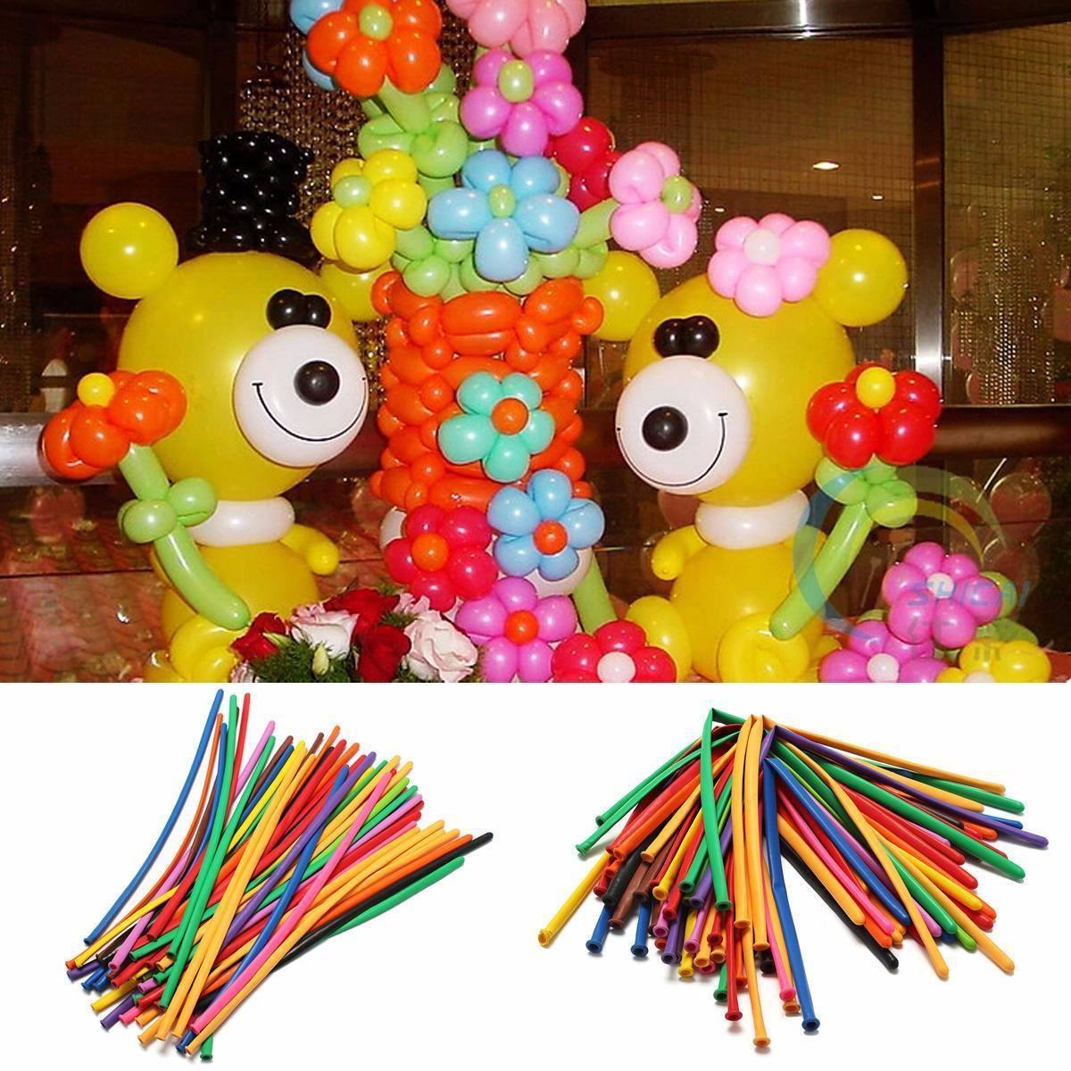 globos para cumpleaos pencil por docena decoracin with figuras de globos para cumpleaos
