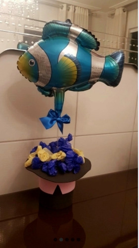 globos  peces,  pulpos 45cm americanos! reclama obsequio !!