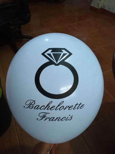 globos personalizados estampados ....se llenan con gas helio